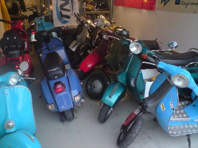 H1 Vespa Shop Tuning Werkstatt Motorenwerkstatt